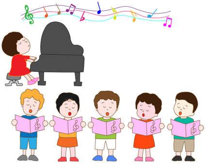 recital: Music Festival Illustration