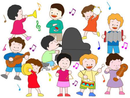 instrument practice: Concert
