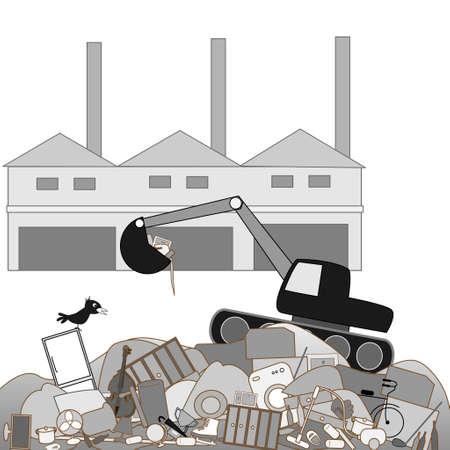 social issues: Impianti di smaltimento dei rifiuti