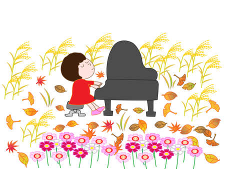 Piano concert in the fall