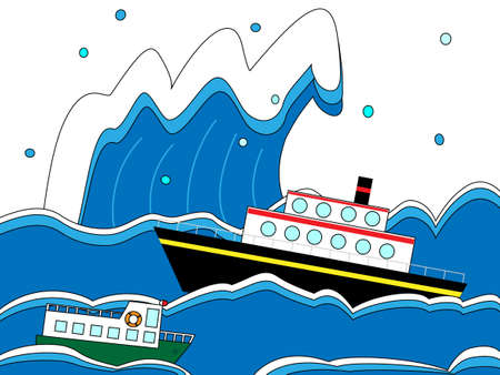 distress: Voyage in a storm