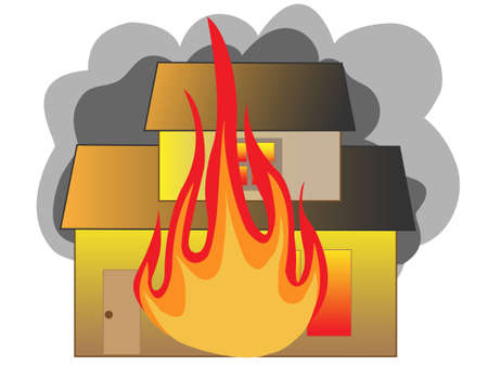 burning: House fire