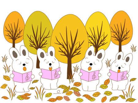 fairyland: Rabbit fall music concert