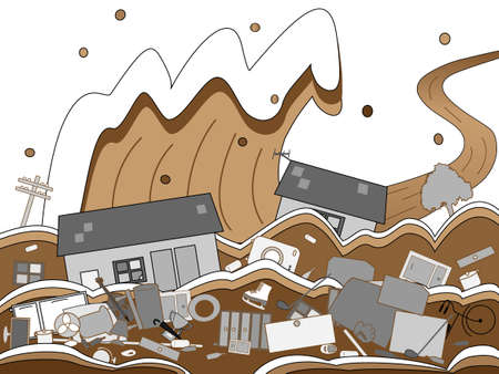 outage power: Floods of fear Illustration