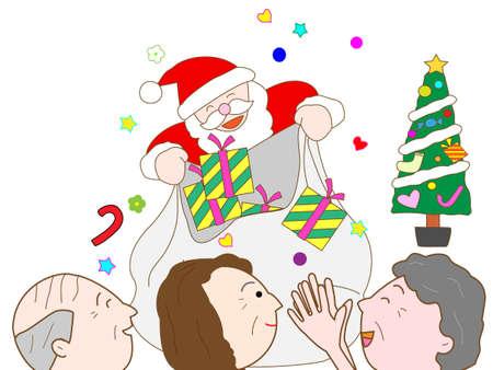 nursing care are for seniors: Senior citizens Christmas party
