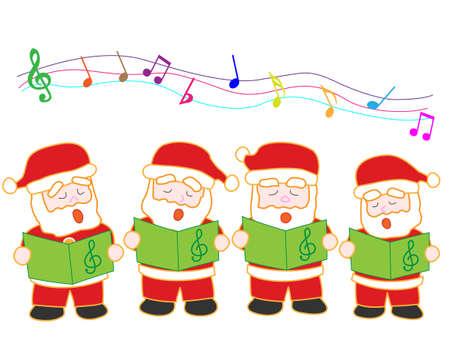 chant: Singing Santa Claus