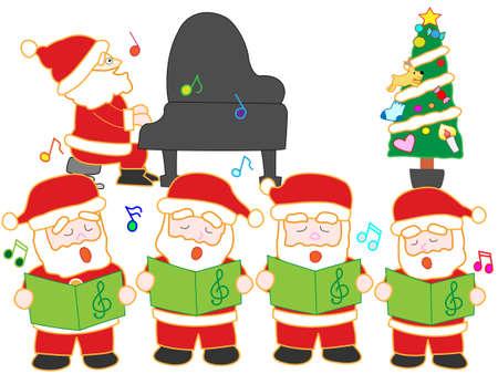 recital: Singing Santa Claus