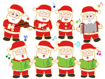 hymn: Concert of Santa Claus