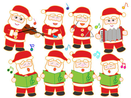 castanets: Concert of Santa Claus