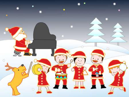 castanets: Christmas concert