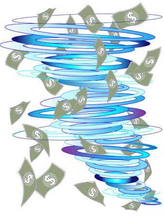 crisis management: The future of money Illustration