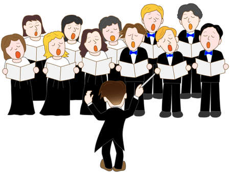 Chor Standard-Bild - 47525193