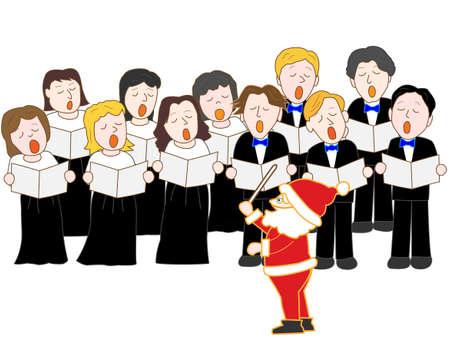 choir: Christmas choir