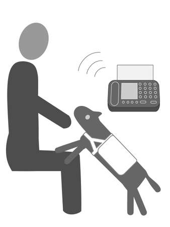 Persons with disabilities and hearing dogs