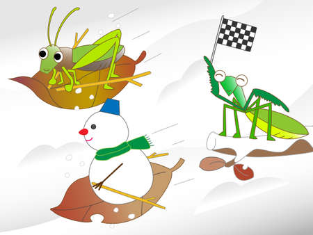 fairyland: Insects ski