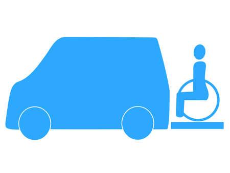 pflegeversicherung: Welfare Taxi icon