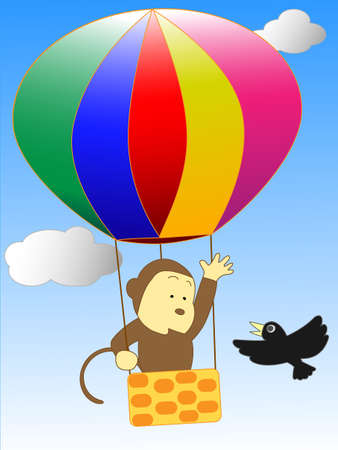 air flow: The adventures of a balloon monkey