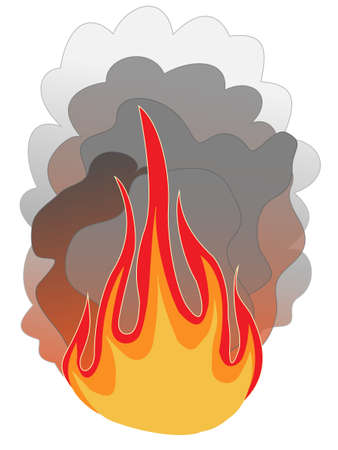 Fire icon Illustration