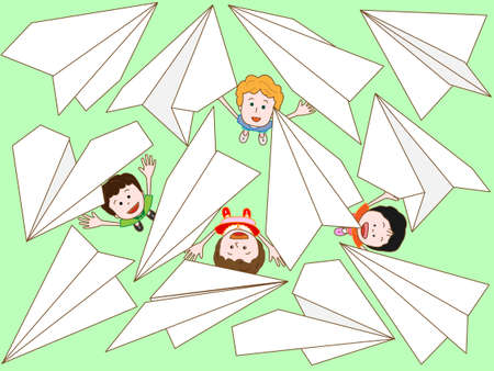 paper airplane: Background material for paper airplane