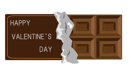unrequited: Valentines day chocolate Illustration