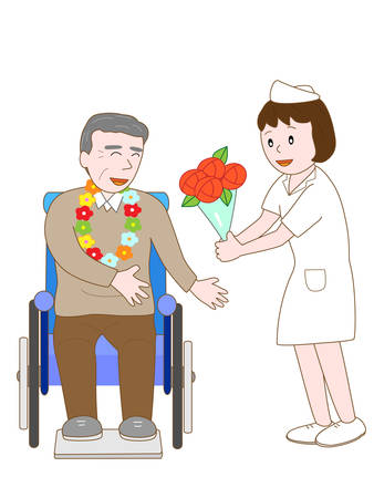 celebrate: Celebrate inpatient nurse Illustration