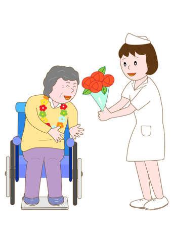 pflegeversicherung: Feiern Sie station�re Krankenschwester