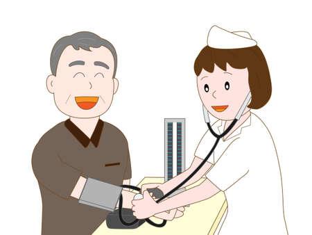 pflegeversicherung: Blutdruck bei älteren Menschen