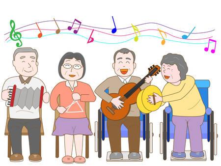 pflegeversicherung: Konzert für ältere Menschen