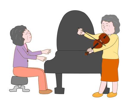 nursing care are for seniors: Concert for the elderly