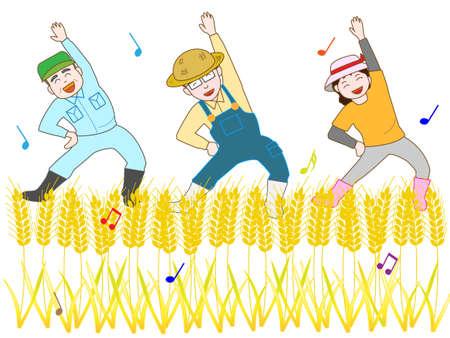 self training: The joy of harvest wheat