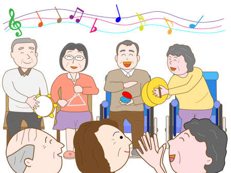 'nursing home': Music Festival at the nursing home