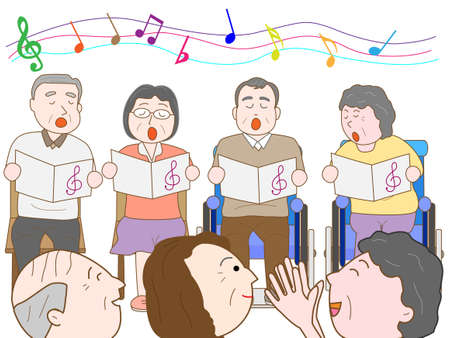 ageing: Music Festival at the nursing home