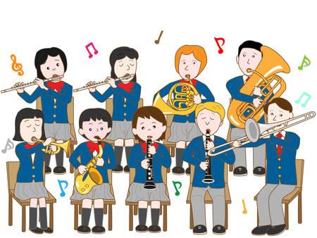 orquesta: banda escolar