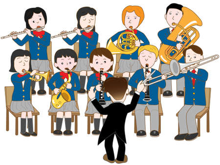 brass wind: High school band