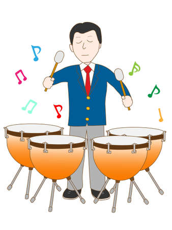Timpani played high school