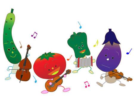 Music festivals for vegetable