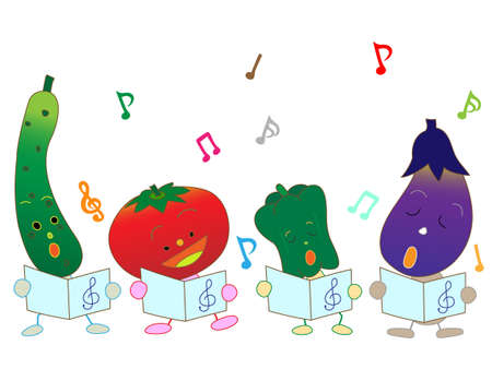 brass band: Chorus of vegetables
