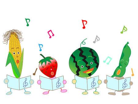 chorus: Chorus of vegetables