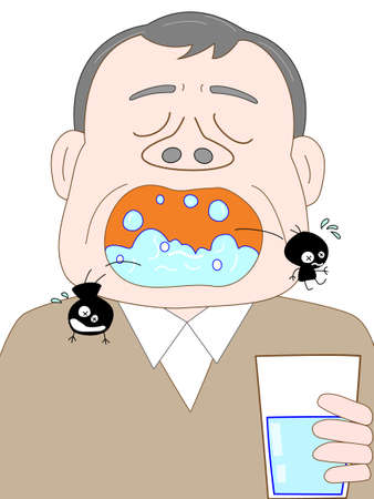 flu prevention: Gargle with the elderly