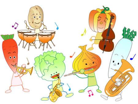 野菜の音楽祭