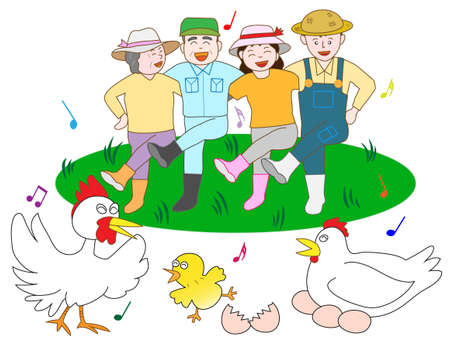 poultry: Bright poultry farmers