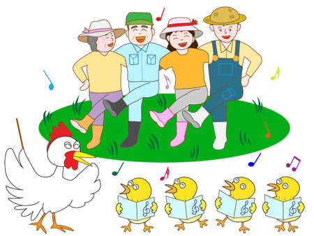 chorus: Bright poultry farmers