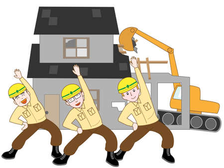 vacant: House demolition workers of excise duties