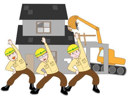 duties: House demolition workers of excise duties