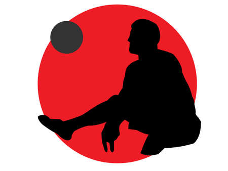 Sitting volleyball for disabled sports