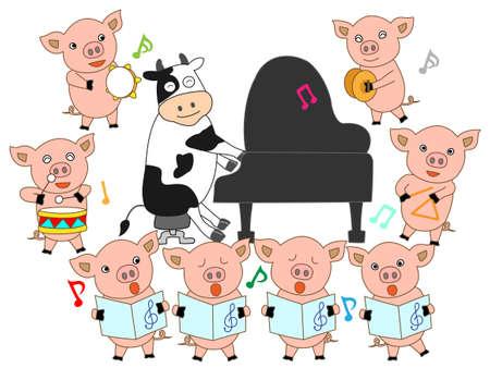 Cymbals: Livestock concert