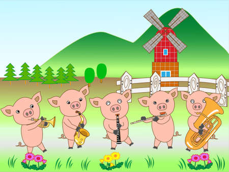 fairyland: Concert for young pigs