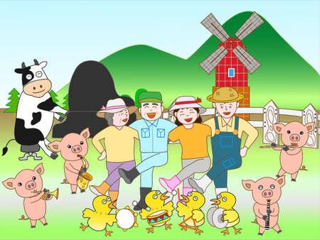 家畜コンサート
