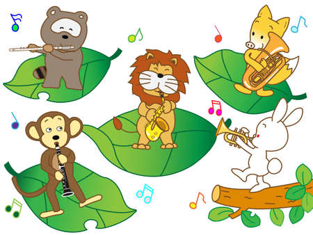 wakaba: Animal brass band