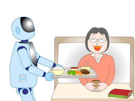 To take care of the elder care robot
